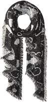 Betsey Johnson Women's Heart Couture Blanket Wrap