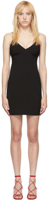 Alexander Wang Black Wash and Go Mini Dress