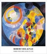 Rob-ert 1art1 Posters: Robert Delaunay Poster Art Print - Formes Circulaires (44 x 39 inches)