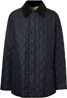 Burberry Diamond Quilted Thermoregulated Barn Jacket