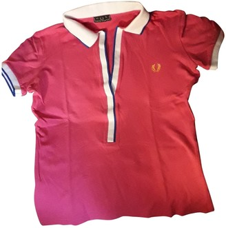 Fred Perry Pink Cotton Knitwear for Women