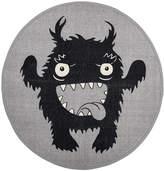 Bloomingville - Monster Rug - Grey