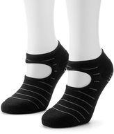 adidas Women's 2-pk. Studio Striped climalite No-Show Socks