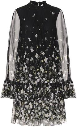 Erdem Concetta floral silk-chiffon midi dress