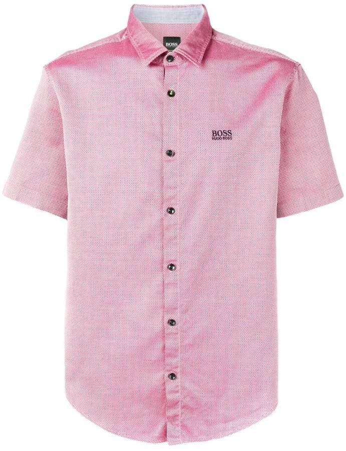 f1d80fbc HUGO BOSS Men's Shortsleeve Shirts - ShopStyle