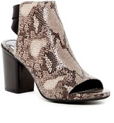 Kenneth Cole Reaction Fridah Fly Open Toe Embossed Bootie