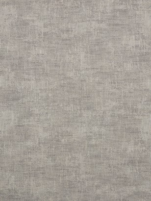 John Lewis & Partners Maria Textured Plain Fabric, Steel, Price Band B