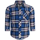 Timberland TimberlandBaby Boys Blue Check Cotton Shirt