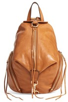 Rebecca Minkoff Medium Julian Leather Backpack - Brown