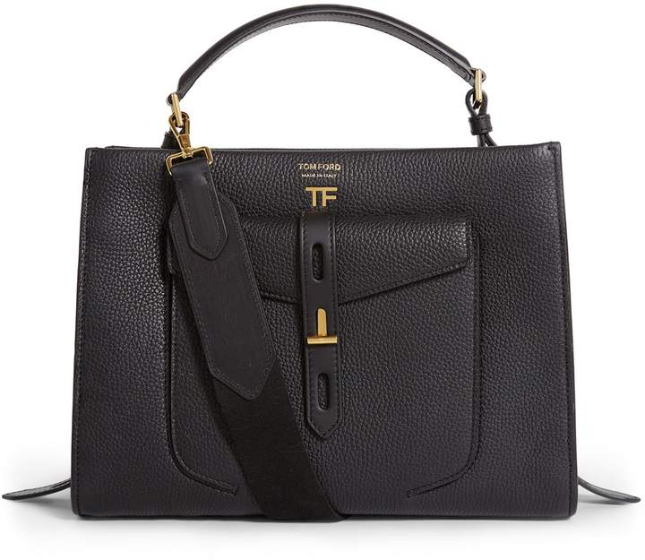 e880ee30a Tom Ford Black Top Handle Handbags - ShopStyle