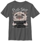 Fifth Sun Charcoal 'Pug Shot' Tee - Boys