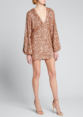 retrofete Aubrielle Sequined Dress
