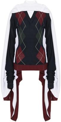 Y/Project Wool-blend sweater