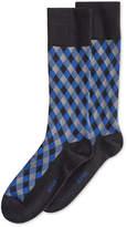 Alfani Spectrum Diamond Pattern Single Crew Socks