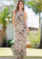 Together Crinkle Effect Georgette Maxi Dress