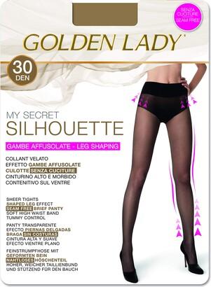 Golden Lady Goldenlady Women's My Secret Silhouette 30 3p Hold-Up Stockings 30 DEN