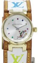 Louis Vuitton Tambour Yellow Gold 27mm Womens Watch