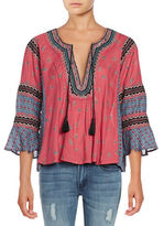 Free People But I Like It Bell Sleeve Top