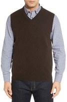Nordstrom Men's Cashmere V-Neck Sweater Vest