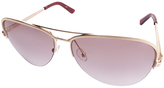 Calvin Klein Rose Aviator Sunglasses - Women