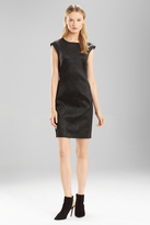 Josie Natori Black Chintz Dress