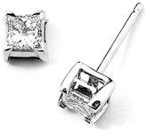Kwiat Women's .50Ct Tw Princess-Cut Diamond Stud Earrings