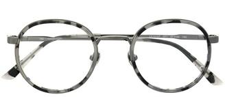 Calvin Klein Round Frame Glasses