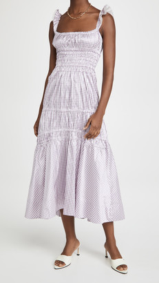 Brock Collection Abito Prisca Gingham Dress