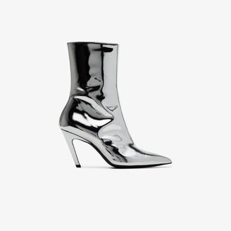 Balenciaga Talon mirror 80 ankle boots