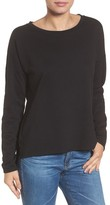 Caslon Women's High/low Cinch Botton Top