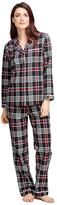 Brooks Brothers Cotton Plaid Pajama Set