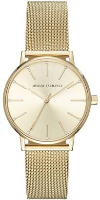 Armani Exchange AX5536 Lola Gold Watch
