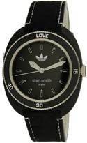 adidas Women's Stan Smith ADH3181 Black Leather Quartz Fashion Watch