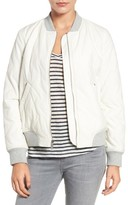 French Connection Women's Quilted Bomber Jacket