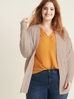 Old Navy Open-Front Cocoon Plus-Size Sweater