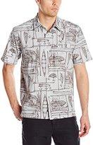 Quiksilver Waterman Men's Angler Button Down Shirt