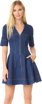 Stella McCartney Zip Denim Dress