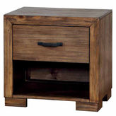 Asstd National Brand Henderson Rustic 1-Drawer Nightstand