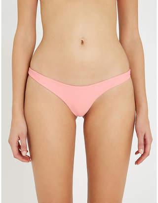 LES GIRLS LES BOYS Brazilian high-rise bikini bottoms