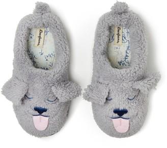 Dearfoams Unisex Kid's Animal Sherpa Clog Slippers