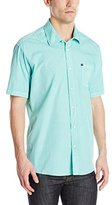 Quiksilver Men's Everyday Solid Short Sleeve Shirt