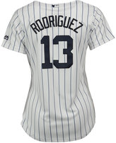 Majestic Women's Alex Rodriguez New York Yankees Replica Cool Base Jersey
