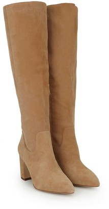 Camel Knee High Boots Women   Shop the