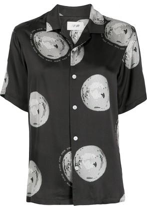 Kirin Disco Ball Print Shirt