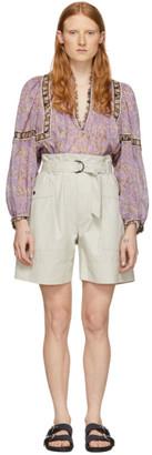 Etoile Isabel Marant Beige Zayna Shorts