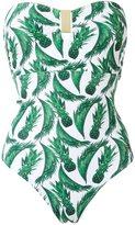 BRIGITTE printed swimsuit - women - Elastodiene/Polyamide - M