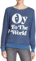 Wildfox Couture Oy To The World Pullover - 100% Exclusive