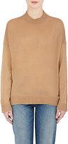 6397 Women's Mock-Turtleneck Merino Wool Sweater