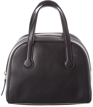 The Row Bowler 9 Leather Tote
