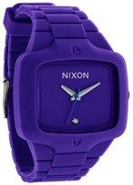 Nixon Men's A139230 Silicone Quartz Watch